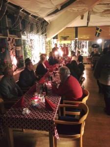 Julbord 2015 för Allianspartierna i Väsby